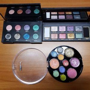 Glitter eyeshadow pallets